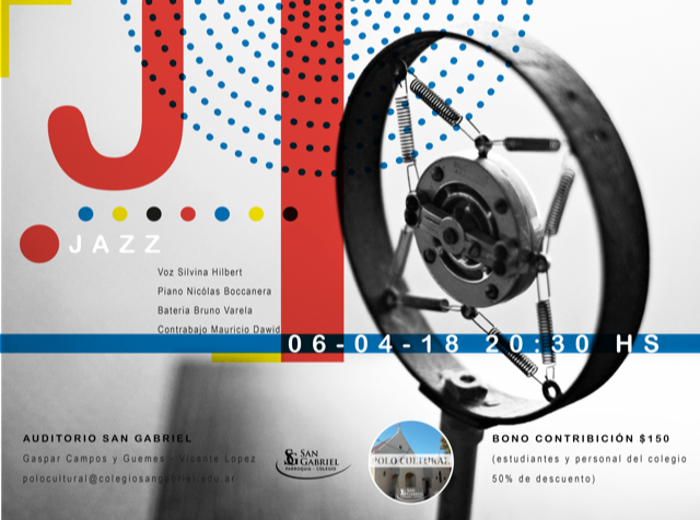 ITINERARIO MUSICAL 2018: JAZZ- 06 ABRIL, 20.30HS