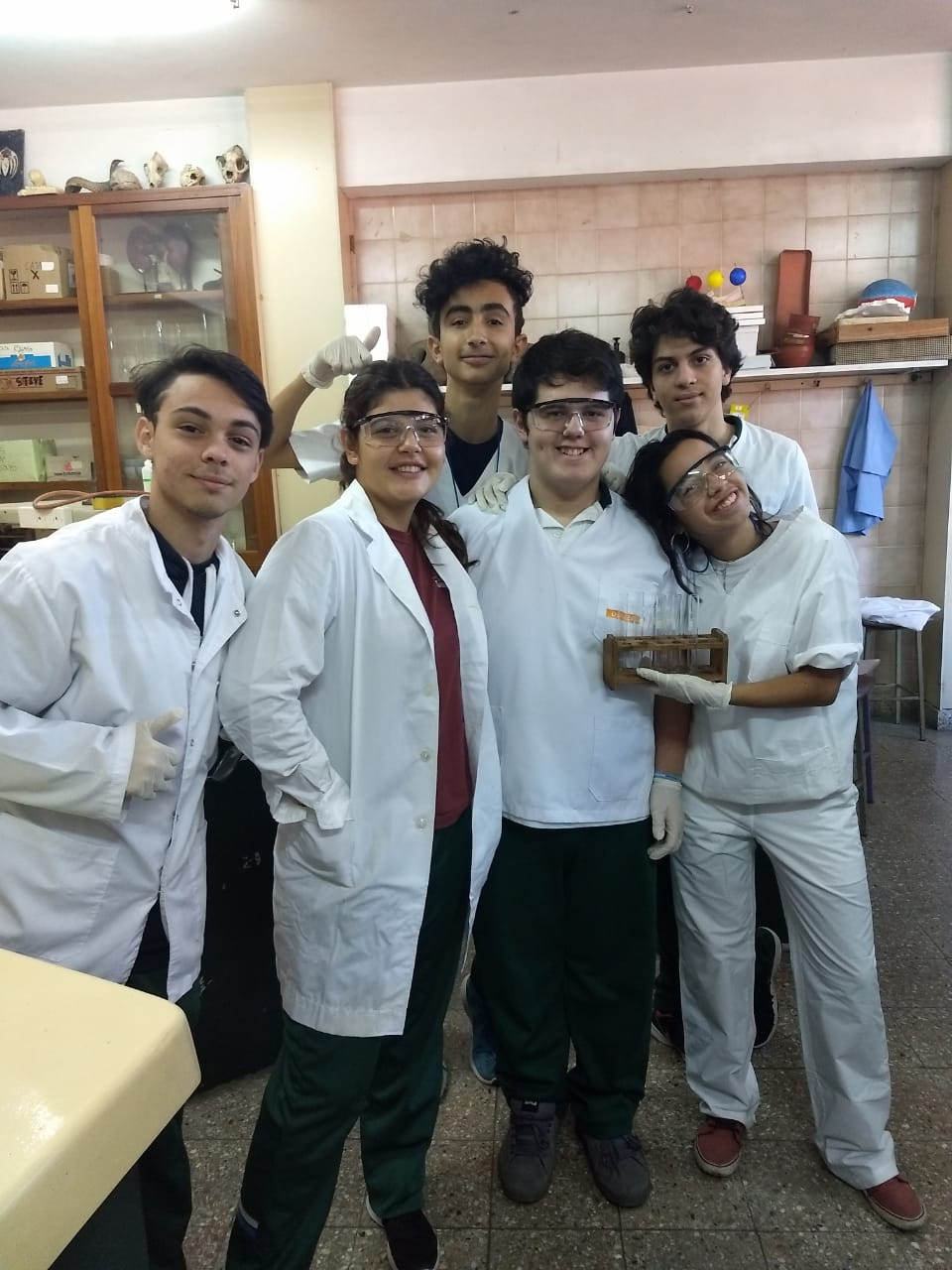 6to año naturales en el laboratorio